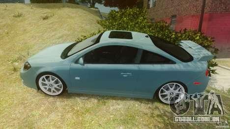 Chevrolet Cobalt SS para GTA 4 esquerda vista