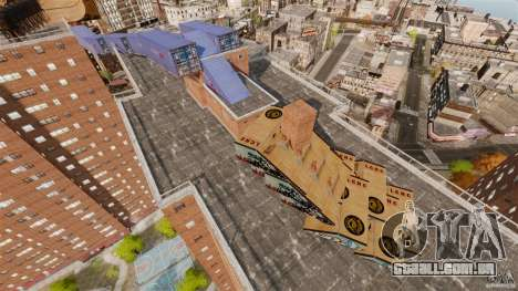 Bike Challenge track + Huge Ramp para GTA 4 por diante tela