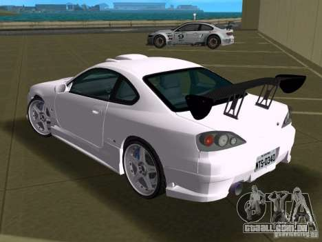 Nissan Silvia spec R Tuned para GTA Vice City vista interior