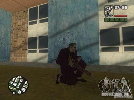 HQ Joker Skin para GTA San Andreas oitavo tela