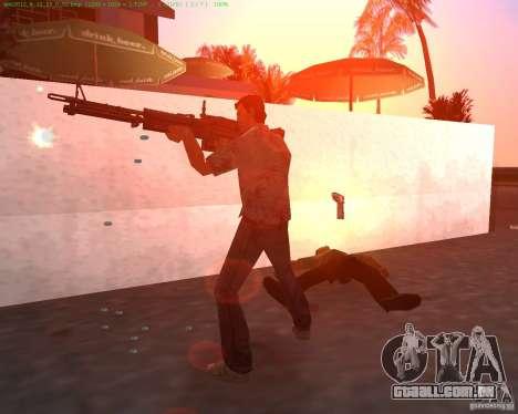 O novo M-60 para GTA Vice City segunda tela