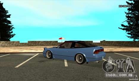 Nissan 240SX JDM para GTA San Andreas vista direita
