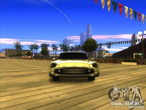 Glendale - Oceanic para GTA San Andreas vista traseira
