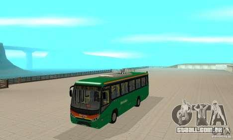 MetroBus of Venezuela para GTA San Andreas esquerda vista