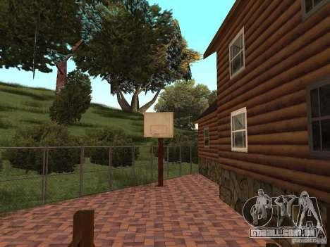 Villa nova para o CJ para GTA San Andreas nono tela