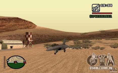 Dassault Rafale M para GTA San Andreas esquerda vista