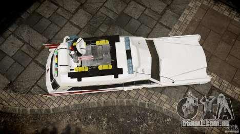 Cadillac Ghostbusters para GTA 4 vista lateral