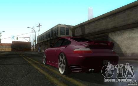 Ruf R-Turbo para GTA San Andreas traseira esquerda vista