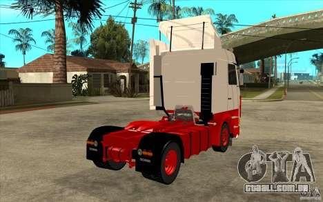 Scania 143M 450 V8 para GTA San Andreas vista direita