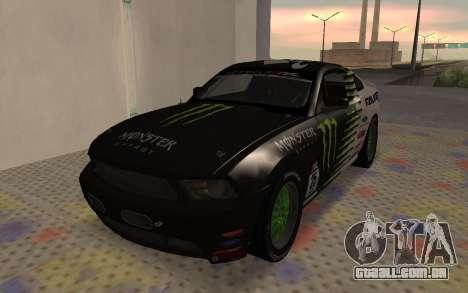 Ford Mustang GT Falken Monster 2010 v2.0 para GTA San Andreas