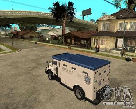 NSTOCKADE de GTA IV para GTA San Andreas esquerda vista