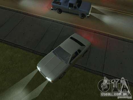 IVLM 2.0 TEST №3 para GTA San Andreas sexta tela