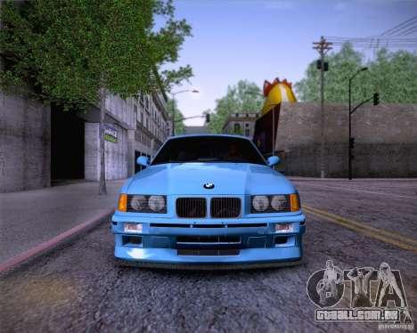 BMW M3 E36 1995 para o motor de GTA San Andreas