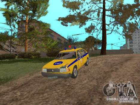 2141 AZLK GAI para GTA San Andreas vista interior