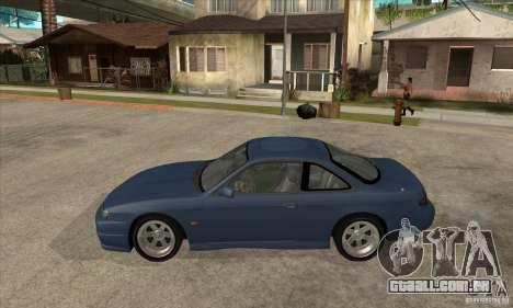 RODrifter Nissan Silvia S14 para GTA San Andreas esquerda vista