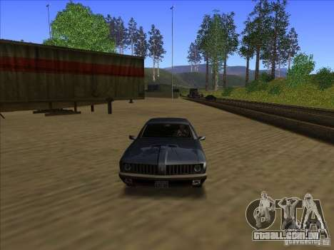 ENBseies v 0.075 para os computadores fracos para GTA San Andreas terceira tela