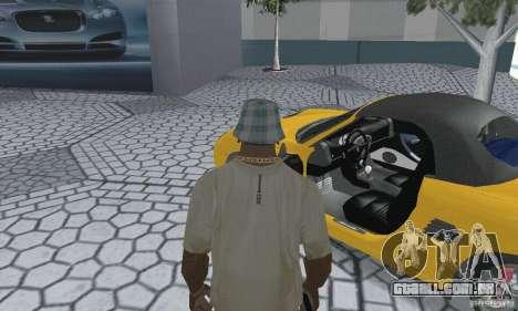 Porsche Boxster para GTA San Andreas vista traseira