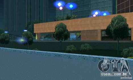 Faróis azuis para GTA San Andreas terceira tela