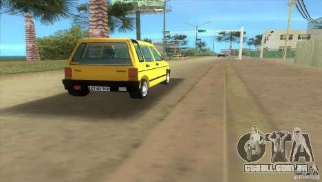 Daewoo Tico para GTA Vice City vista direita