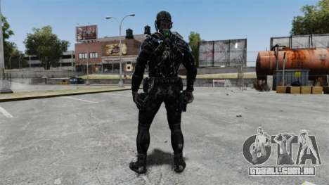 Sam Fisher v10 para GTA 4 terceira tela