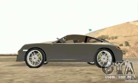 Porsche Carrera S 2009 para GTA San Andreas vista direita