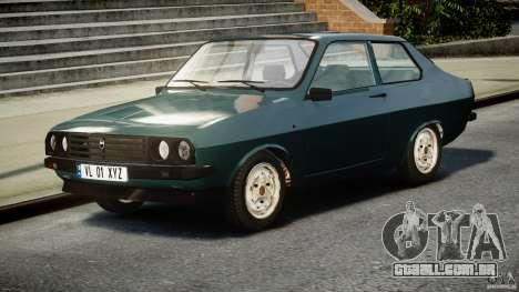 Dacia 1310 Sport v1.3 para GTA 4 vista de volta