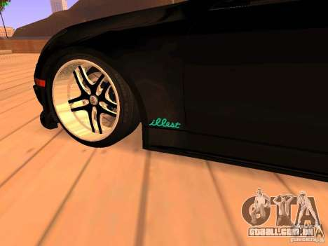 Infiniti G35 V.I.P para GTA San Andreas vista traseira