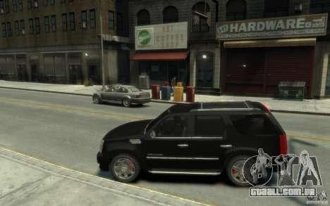 Cadillac Escalade v3 para GTA 4 esquerda vista