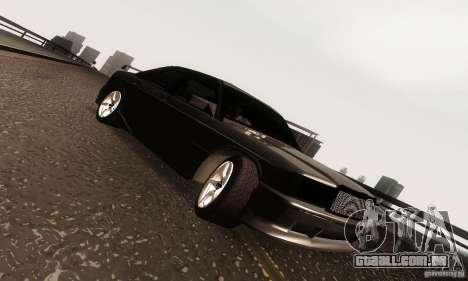 Mercedes-Benz 190E V2.0 para GTA San Andreas vista interior