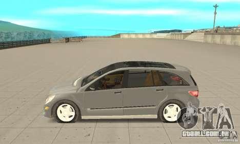 Mercedes-Benz R-Class para GTA San Andreas esquerda vista