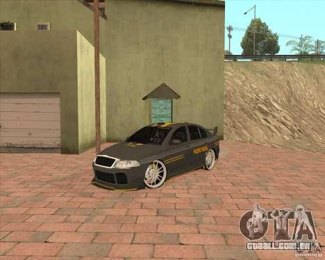 Skoda Octavia Taxi para GTA San Andreas