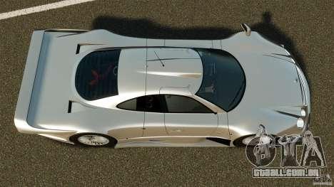 Mercedes-Benz CLK GTR AMG para GTA 4 vista direita
