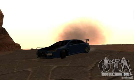 New Drift Zone para GTA San Andreas sétima tela