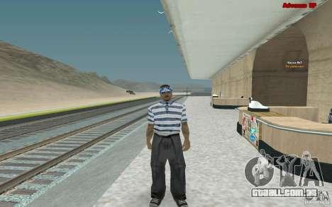 Novas skins para gangue Varios Los Aztecas para GTA San Andreas terceira tela