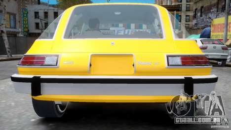 AMC Pacer 1977 v1.0 para GTA 4 vista de volta