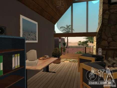 Villa nova para o CJ para GTA San Andreas décimo tela