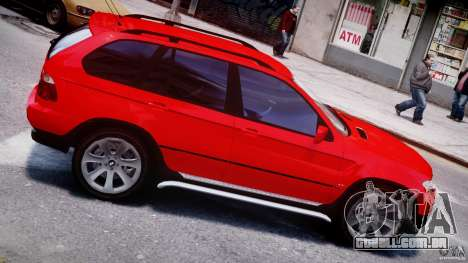BMW X5 E53 v1.3 para GTA 4 vista inferior
