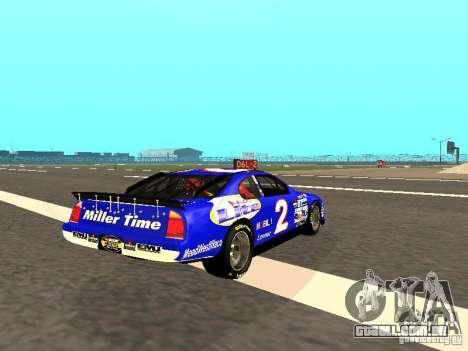 Ford Taurus Nascar LITE para GTA San Andreas vista direita