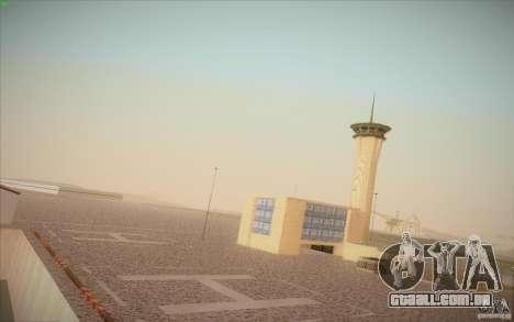 New San Fierro Airport v1.0 para GTA San Andreas segunda tela
