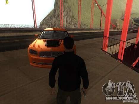 Dodge Charger From NFS CARBON para GTA San Andreas vista direita