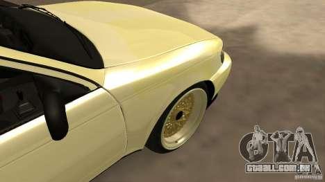 Toyota Corolla Tuned para GTA San Andreas vista traseira