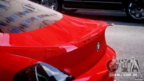 BMW M6 Orange-Black Bullet para GTA 4 interior