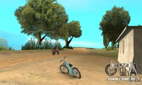 Dirt Jump Bike para GTA San Andreas vista direita
