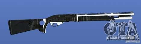 Shotgun para GTA 4 por diante tela