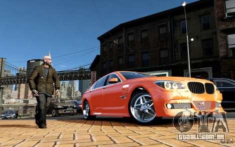 Telas de menu e arranque BMW HAMANN no GTA 4 para GTA San Andreas sétima tela