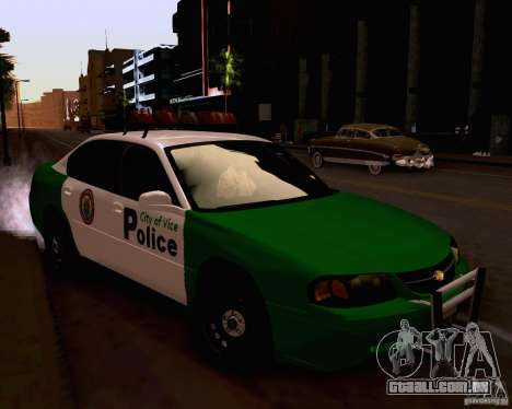 Chevrolet Impala 2003 VCPD police para GTA San Andreas