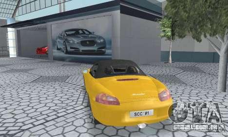 Porsche Boxster para GTA San Andreas esquerda vista