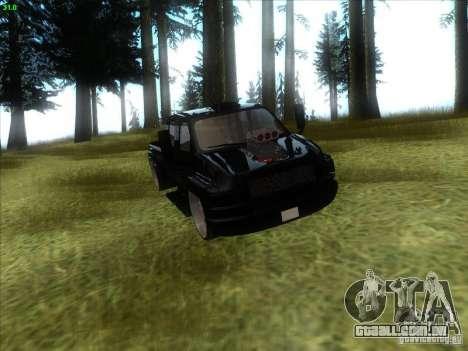 GMC C4500 Pickup DUB Style para GTA San Andreas vista interior