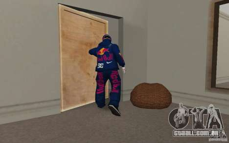 Red Bull Clothes v2.0 para GTA San Andreas sexta tela