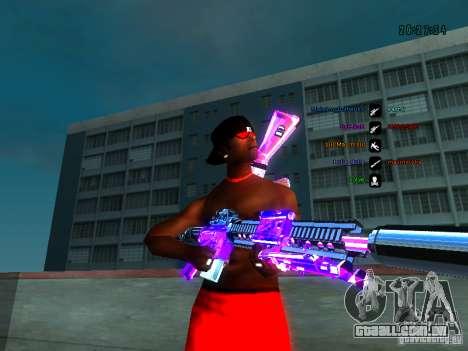 Cromo roxo em armas para GTA San Andreas